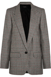 Kiana houndstooth tweed blazer