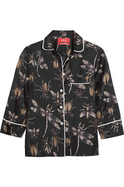 Febe printed silk shirt