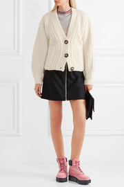 Acne Studios Hadlee oversized wool-blend cardigan