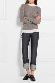 Alabama high-rise straight-leg jeans
