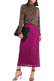 Tybalt corded lace midi skirt