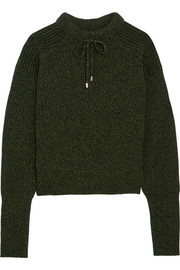 Feldon wool and cashmere-blend sweater