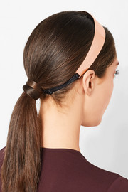 Headband in rose gold-tone brass