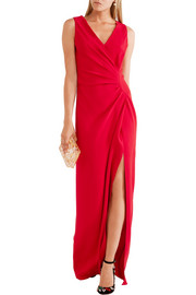 Lanvin Gathered crepe gown