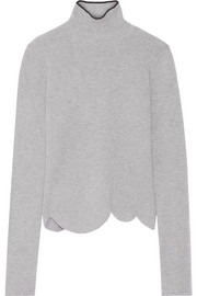 Marni Ribbed wool-blend turtleneck sweater