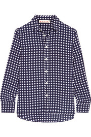 Marni Checked silk shirt