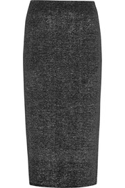 Jil Sander Metallic stretch-wool skirt