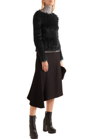 Jil Sander Faux fur sweater