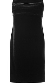 Jil Sander Strapless velvet dress