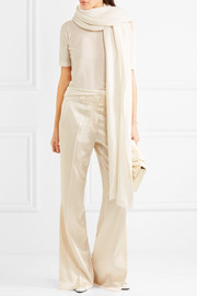 Calvin Klein Collection Silk-satin pants