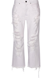 Alexander Wang Rival distressed low-rise boyfriend jeans