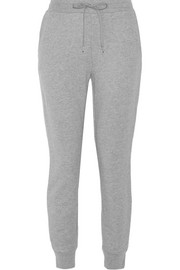 T by Alexander Wang Cotton-blend track pants
