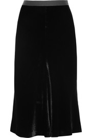 T by Alexander Wang Velvet skirt