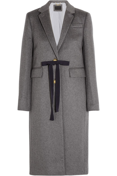 J.Crew - Collection Olivia Wool And Cashmere-blend Coat - Gray
