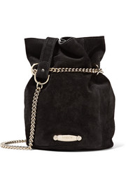 Lanvin Aumoniere mini suede bucket bag