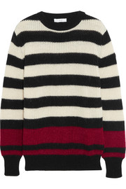 IRO Jaylen striped knitted sweater