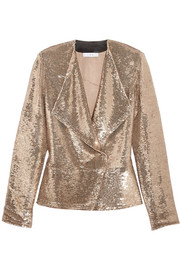 Chilli sequined twill jacket