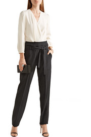 Vanessa Bruno Franco two-tone crepe jumpsuit