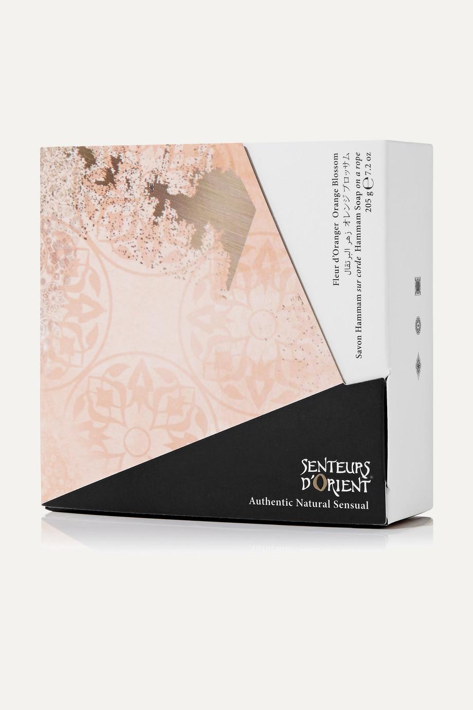 Senteurs d'Orient + NET SUSTAIN Hammam Soap - Orange Blossom, 205g
