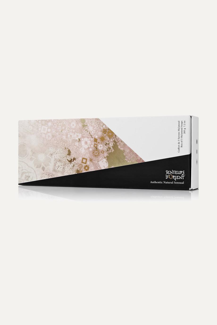 Senteurs d'Orient + NET SUSTAIN Ma'amoul Soap Set, 205g