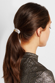 Star Cloud set of three embellished metallic hair ties