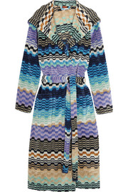 Missoni Home Lara hooded cotton terry robe