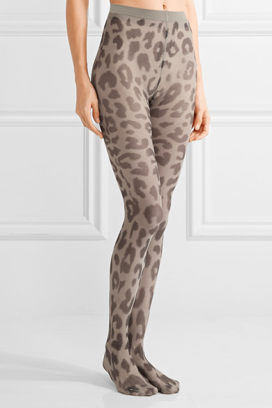 Kanne Leo B leopard-print tights Acne Studios Cheap Authentic Outlet Buy Online Outlet utQNTP