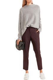 Theory Treeca 2 cropped wool-blend slim-leg pants