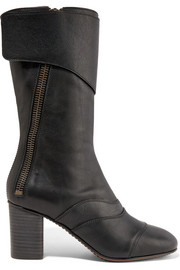 Chloé Paneled leather boots