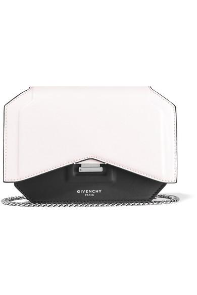 porté en Givenchy blanc et épaule finitions Sac à cuir noir t5AxCqwA