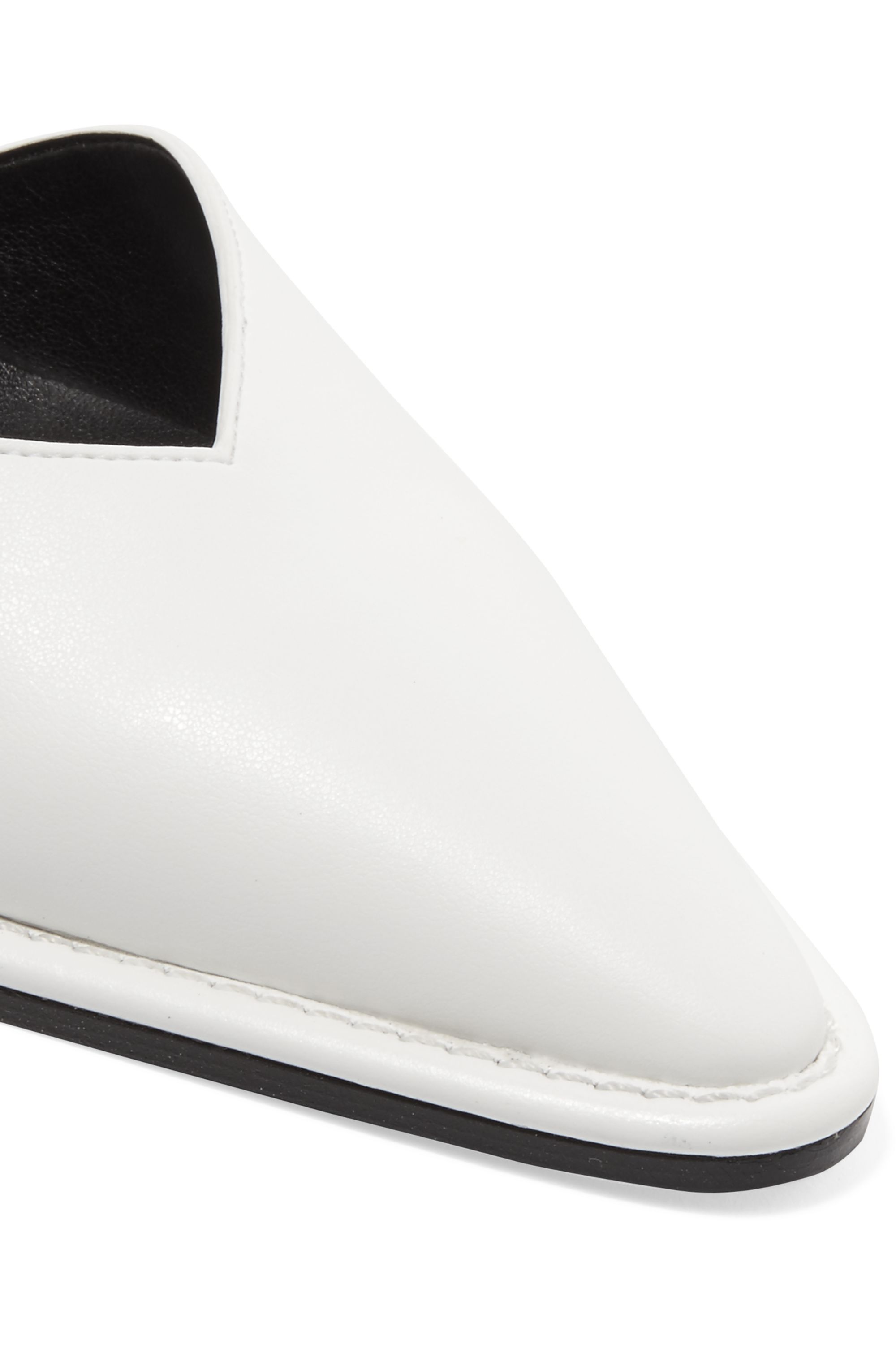 Stella McCartney D'Orsay faux leather pumps