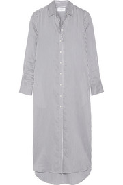 La Ligne Striped voile shirt dress