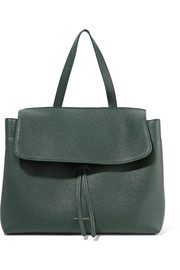Lady tumbled-leather tote