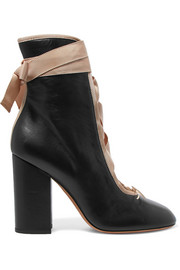 Valentino Lace-up leather ankle boots