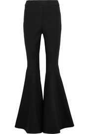 Jacuzzi stretch-crepe flared pants