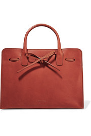 Sun leather tote