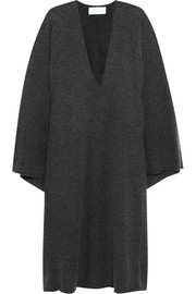 Oversized cashmere dress