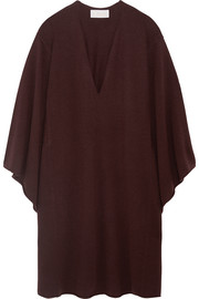 Oversized cashmere midi dress