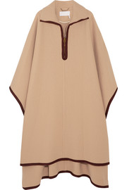 Chloé Wool and cashmere-blend cape