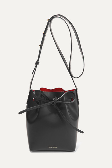 c70b874532e6 Mansur Gavriel | Mini Mini leather bucket bag | NET-A-PORTER.COM