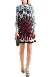 Mary Katrantzou Eden printed crepe mini dress