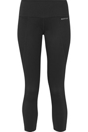 I Am Unique textured stretch-jersey leggings