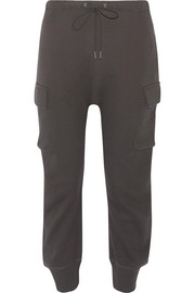 R13 Pacific cotton-jersey track pants