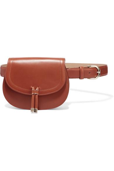 Vanessa Seward - Clever Leather Belt Bag - Tan