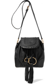See by Chloé Polly tasseled leather shoulder bag