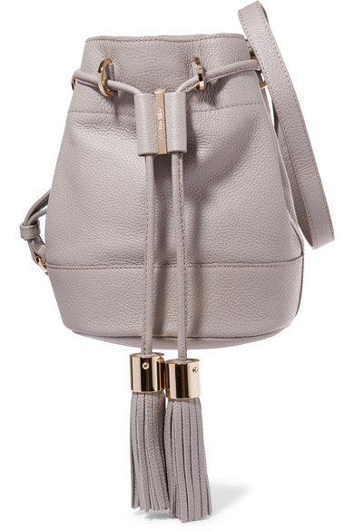 See By Chloé Vicki Textured Leather Bucket Bag