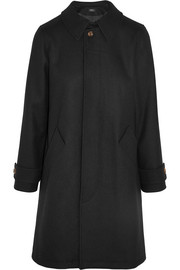 Dinard wool-blend felt trench coat