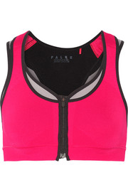 Versatility stretch-jersey sports bra