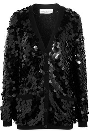 Sonia Rykiel Sequined wool cardigan