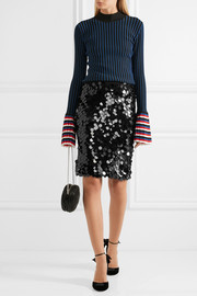 Sonia Rykiel Sequined wool skirt